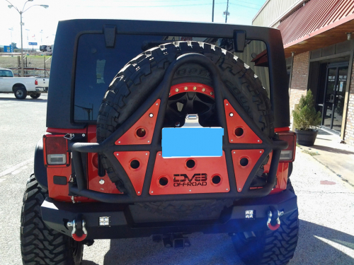 Jeep - DV8 Rear Jeep Bumpers