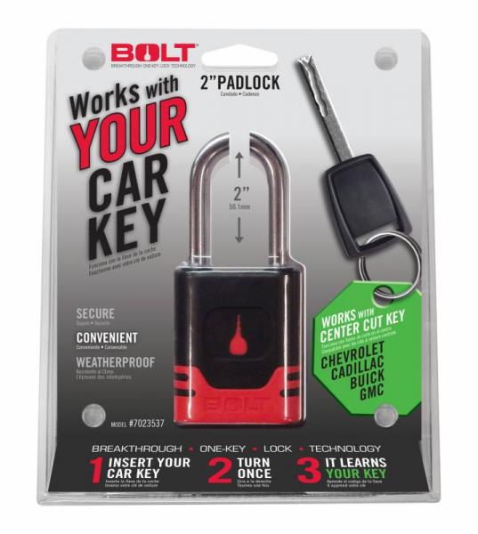 BOLT - BOLT   Padlock   GM Center Cut   (7023537)