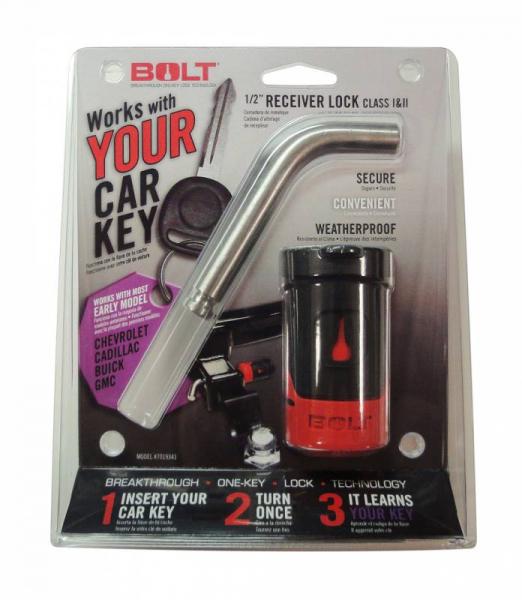 "BOLT - BOLT   1/2""  Receiver Lock   GM   Early Model (gm-a)   (7019341)"