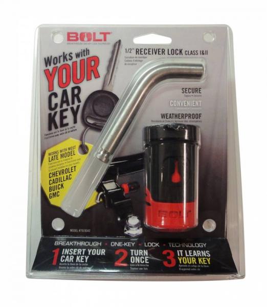 "BOLT - BOLT   1/2""  Receiver Lock   GM Late Model (gm-b)   (7019342)"