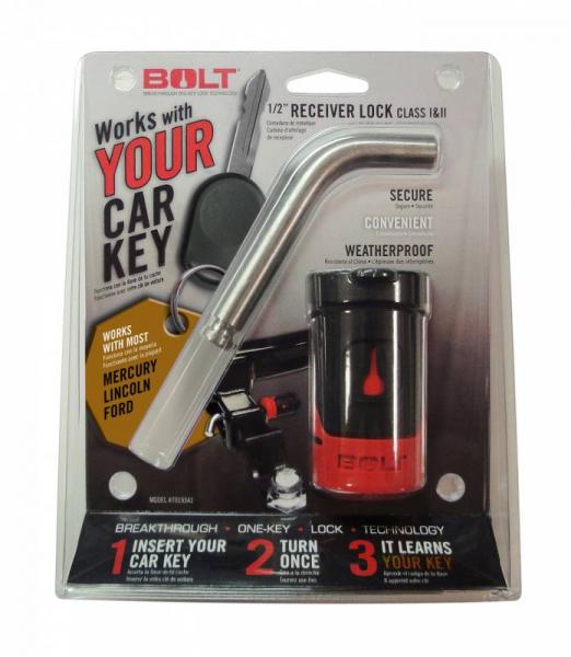 "BOLT - BOLT   1/2""  Receiver Lock    Ford  Trucks    (7019343)"