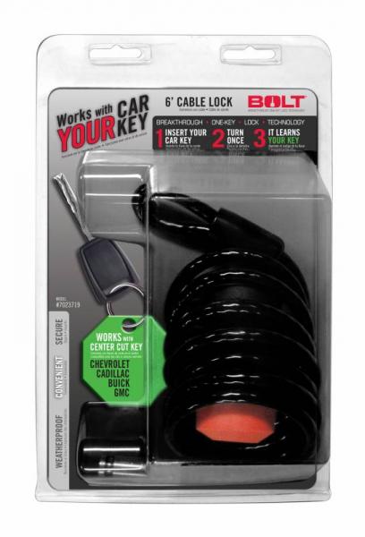 BOLT - BOLT   6'  Cable Lock Gm Center Cut   (7023719)