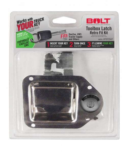 BOLT - BOLT   Toolbox Latch   GM Center Cut   (7023547)