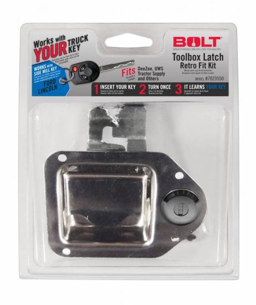 BOLT - BOLT   Toolbox Latch   Ford Side Cut   (7023550)