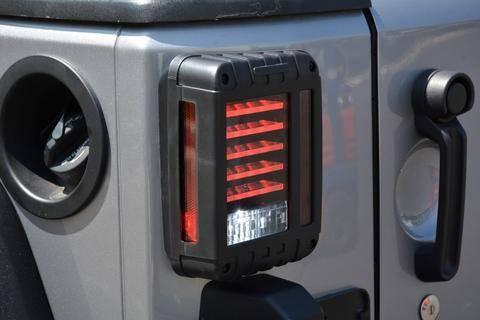 DV8 Offroad - DV8 - Horizontal LED   Tail Light 2007-2018 Wrangler  JK  (TLJK-01)