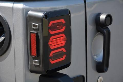 DV8 Offroad - DV8 - Octagon LED Tail Light 2007-2018 Wrangler JK  (TLJK-02)