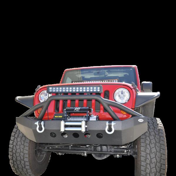 DV8 Offroad - DV8 - Front Bumper   07-14 Wranglers (FBSHTB-06)