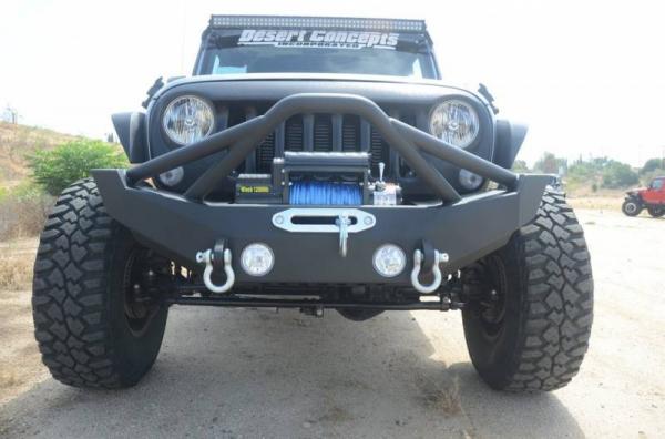 DV8 Offroad - DV8 - Front Bumper   w/ Fog Lights   07-18  Wrangler  JK  (FBSHTB-12)