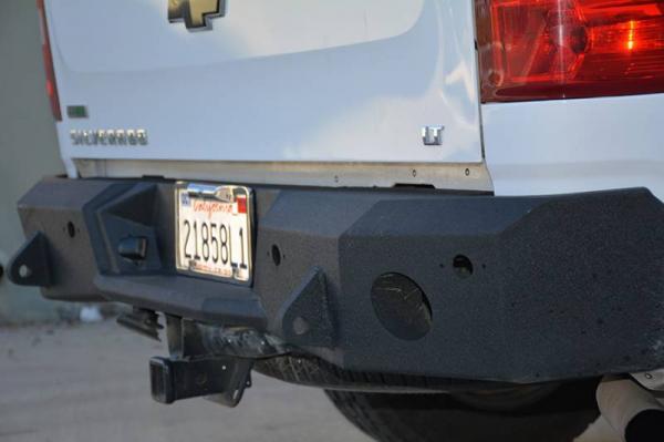DV8 Offroad - DV8 -Rear  Bumper  Chevrolet Silverado  1500 2007-2013   (RBCS1-01)