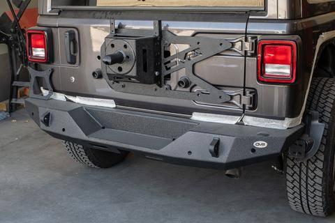DV8 Offroad - DV8 - Rear Bumper  2018+ Wrangler JL  (RBJL-06)