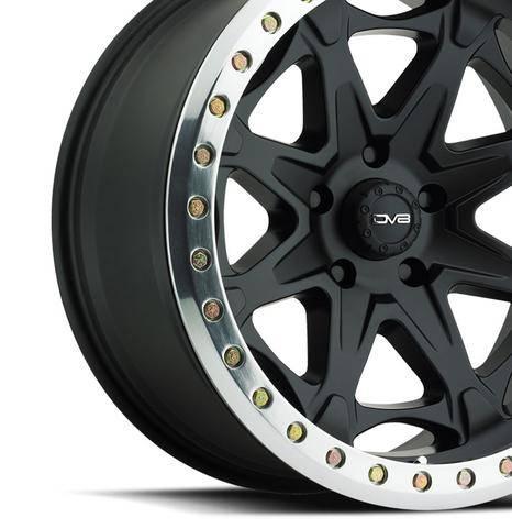 DV8 Offroad - DV8 - Wheels 882 Beadlock Black (882B-2958700)