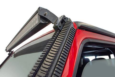 DV8 Offroad - DV8  Picatinny Rail  A-Pillar Light Mount    2018+   JEEP JL/ 2020 GLADIATOR    ( D-JL-190052-PIL )