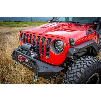 DV8 Offroad - DV8  Headlight Adapter w/ wiring (Allows JK Light to fit into JL)    Jeep JL  (BCABJL-01)