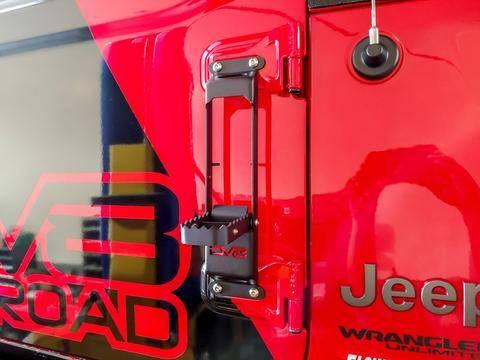 DV8 Offroad - DV8  Hinge Steps (Set of 2) Wrangler JL  (STJL-01)