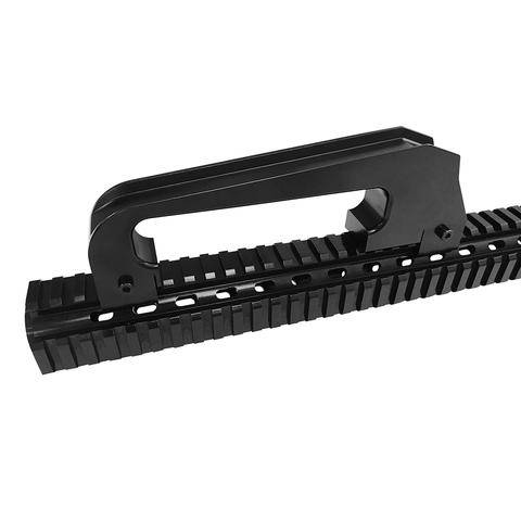 DV8 Offroad - DV8  M16 Styled Grab Handle For DV8 Off Road Rail Mount System  -Requires D-JL-190052-PIL  (D-JP-190058-M16)