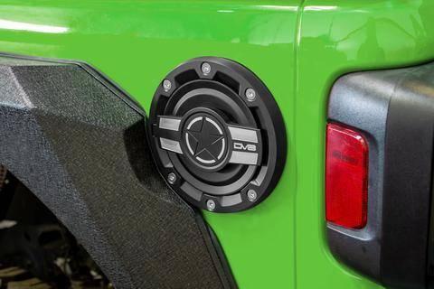 DV8 Offroad - DV8  Fuel Door  Jeep 2018-2021 JL  (D-JL-190004-MIL)