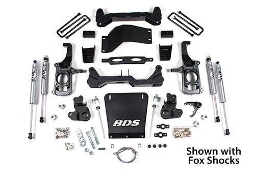 "BDS - BDS  4"" Lift Kit  2011-2019 Silverado/Sierra HD   2WD/4WD   (719H)"
