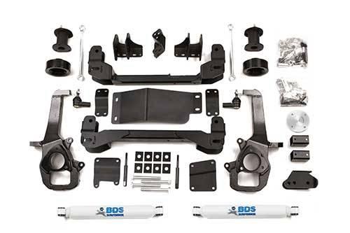 """BDS - BDS  4"""" LIFT KIT  2012 RAM 1500  4WD  (664H)"""