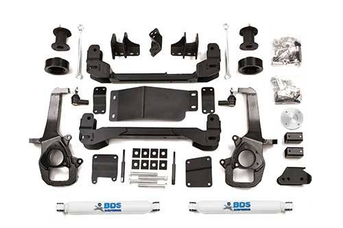 """BDS - BDS  4"""" LIFT KIT  2013-2018 RAM 1500 W/OUT AIR RIDE  4WD  (670H)"""
