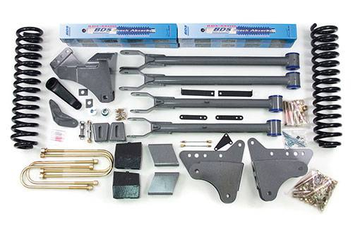"BDS - BDS  4""  4-LINK LIFT KIT  2005-2007  F250 / F350  4WD  (345H)"