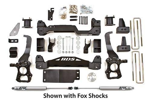 """BDS - BDS  4"""" LIFT KIT  2009-2013  F150  4WD  (598H)"""
