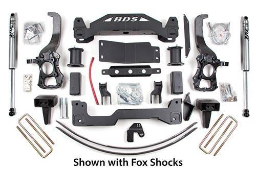 """BDS - BDS  6"""" LIFT KIT  2004-2008  F150  4WD  (574H)"""