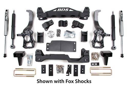 """BDS - BDS  6"""" LIFT KIT  F150  4WD  (573H)"""