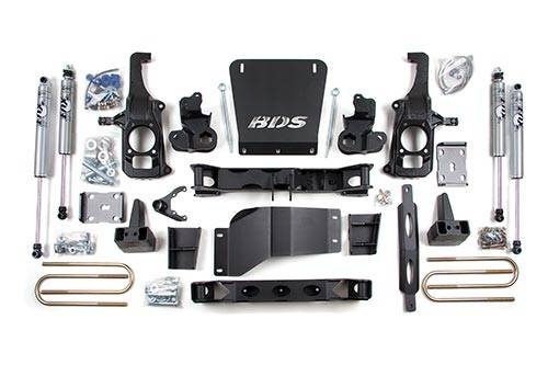 """BDS - BDS 6.5"""" Lift Kit 2011-2019 Silverado/Sierra HD  2/4WD  (196H)"""