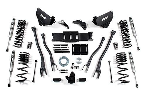 "BDS - BDS 5.5""  4-Link  Lift Kit  2014-2018 Ram 2500 w/Rear Coils Springs  4Wd  Gas  (1606H)"