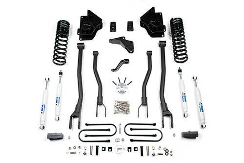 "BDS - BDS  4""  4-LINK LIFT KIT  2013-2018 RAM 3500 W/OUT AIR RIDE  4WD GAS  (1613H)"