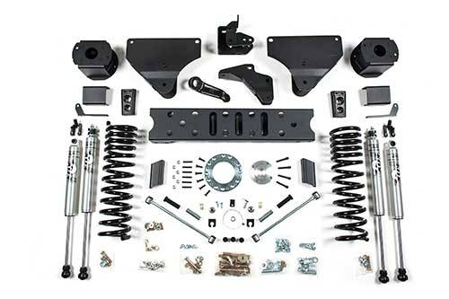 "BDS - BDS  5.5"" RADIUS ARM DROP LIFT KIT  2014-2018 RAM 2500  W/ REAR AIR RIDE  4WD  GAS  (1629H)"