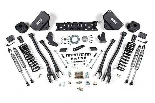 "BDS - BDS  5.5""  4-LINK LIFT KIT  2014-2018 RAM 2500  W/ REAR AIR RIDE  4WD  GAS  (1630H)"