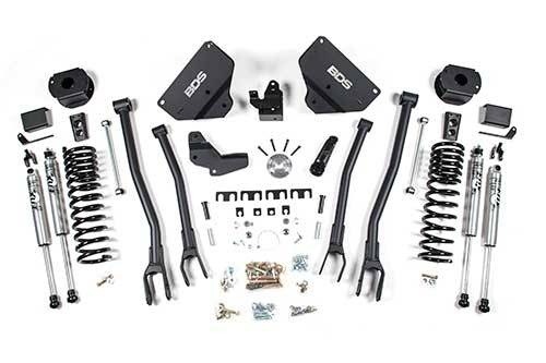 "BDS - BDS  4""  4-LINK LIFT KIT 2014-2018 RAM 2500  W/ REAR AIR RIDE  4WD  GAS  (1634H)"