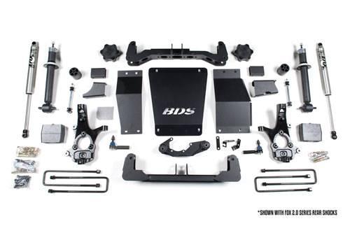 """BDS - BDS  6"""" Lift Kit  2014-2018  Silverado/Sierra  1500   (710H)"""