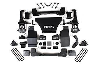 "BDS - BDS 6"" Lift System for 2019+ Silverado/Sierra 1500 Denali w/ Adaptive Ride Control (1809H)"