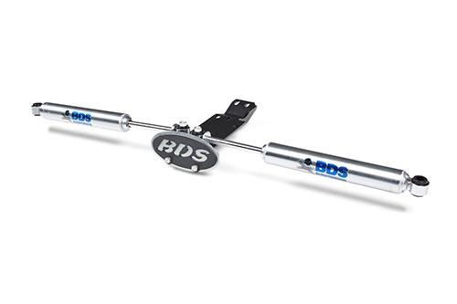 BDS - BDS - Dual Steering Stabilizer Bracket 2018+ Wrangler JL (55381)