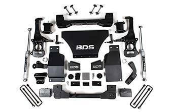 """BDS - BDS 4"""" Lift Kit 2019+ Silverado/Sierra 1500 4WD (1800H)"""
