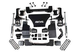 "BDS - BDS 4"" Lift Kit 2019+ Chevy Trail Boss 1500/GMC AT4  1500 4WD(749H)"