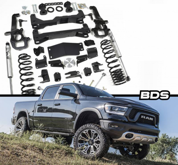 "BDS - BDS  4"" LIFT KIT  2019+ RAM 1500  W/ AIR RIDE & RAM REBEL 4WD  (1641H)"