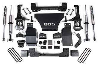 "BDS - BDS  6"" Coilover Lift Kit  W/ FOX Shocks  2019+ Silverado/Sierra 1500  (Snap Ring Coil Over)  (746FSR)"