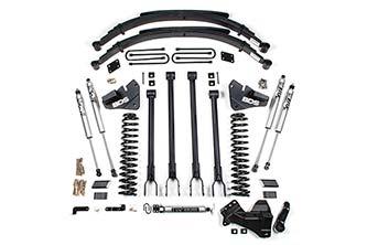 "BDS - BDS  4"" 4-Link Lift Kit   2020+   F250/F350   4WD  (Diesel)  w/ Rear Block  (1567H)"