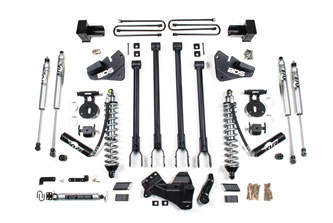 """BDS - BDS  4"""" 4-Link Coilover Lift Kit  2020+  F350  4WD  DRW  (Diesel)  w/ Rear Block  (1565F)"""