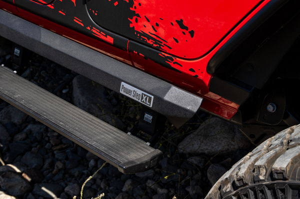 AMP - AMP PowerStep XL   2007-2018 Wrangler  JK  4Dr   (77122-01A)
