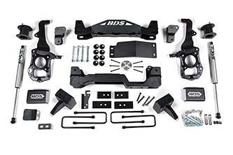 """BDS - BDS  4""""  Lift Kit  2021+  F150  4WD  (1583H)"""