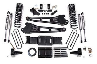 "BDS - BDS  5.5""  Radius Arm Lift Kit   2019+  Ram 3500  GAS  4WD  (1686H)"