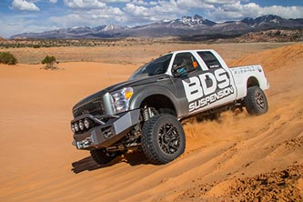 """BDS - BDS  6"""" Coil Over  4-Link Lift Kit  w/ FOX Shocks   2011-2016  F250/F350   (596F)"""