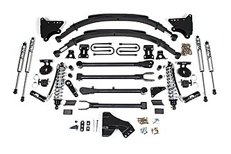 """BDS - BDS  4""""  Coil Over  4-Link Conversion Kit  w/ FOX Shocks   2011-2016  F250/F350  DIESEL  (590F)"""