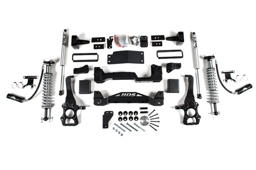 "BDS - BDS  4""  Coil Over Lift Kit   w/ FOX Shocks  2015-2020  F150  4WD  (1533F)"