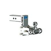 "B&W - B & W   Tow & Stow   8"" Model  Tri Ball   2.5"" Hitch  (Class V)   5"" Drop / 5.5"" Rise  Chrome  (TS20048C)"