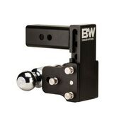 "B&W - B&W   Tow & Stow   Dual Ball   2.5"" Hitch  5"" Drop / 4.5"" Rise  Black (TS20037B)"
